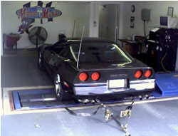 vehicle dyno machine